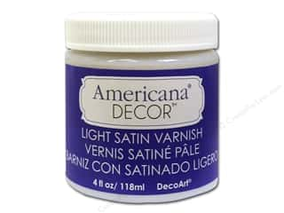 DecoArt Americana Decor Varnish 4oz Light Satin