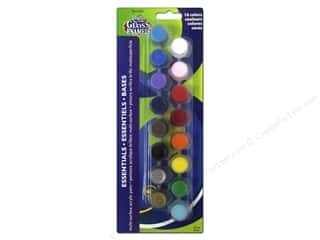 Decoart Paints: DecoArt Paint Pot Americana Gloss Enamels 16 Essentials