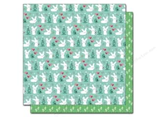 "Winter Brown: Lawn Fawn Snow Day Paper 12""x 12"" Mittens (12 pieces)"