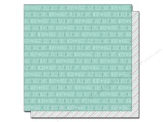 "Snow Texture Winter Wonderland: Lawn Fawn Snow Day Paper 12""x 12"" Peacoat (12 pieces)"