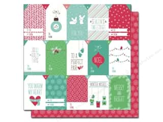 "Winter Brown: Lawn Fawn Snow Day Paper 12""x 12"" Beanie (12 pieces)"