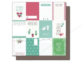 "Weekly Specials Pins : Lawn Fawn Snow Day Paper 12""x 12"" Hoodie (12 sheets)"