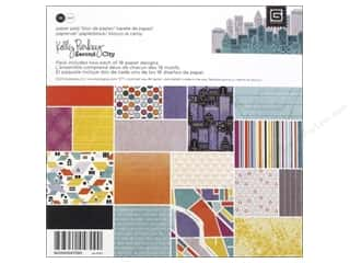 BasicGrey Designer Papers & Cardstock: BasicGrey Paper Pad 6 x 6 in. Second City 36 pc.