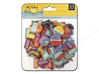 BasicGrey Chipboard Alphabet Stickers Second City