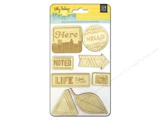 Wood Burning Wood Burning Tools: BasicGrey Wood Die-Cuts Second City