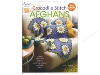 Yarn, Knitting, Crochet & Plastic Canvas Annie's Attic: Annie's Crocodile Stitch Afghans Book by Joyce Lewis