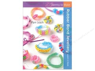Taunton Press Beading & Jewelry Books: Search Press Twenty To Make Rubber Band Jewellery Book