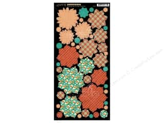 Graphic 45: Graphic 45 Raining Cats & Dogs Cardstock Flowers