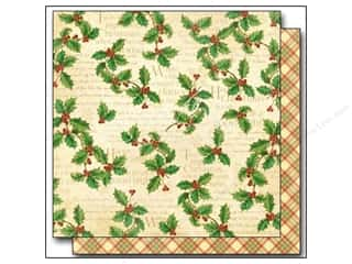 "Weekly Specials Brown: Graphic 45 Twas The Night Before Christmas Paper 12""x 12"" Happy Holly-Day (25 pieces)"