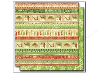 "Graphic 45 Christmas: Graphic 45 Twas The Night Before Christmas Paper 12""x 12"" Ho Ho Ho (25 pieces)"
