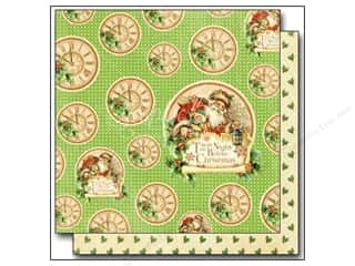 "Graphic 45 Christmas: Graphic 45 Twas The Night Before Christmas Paper 12""x 12"" Jolly Old Elf (25 pieces)"