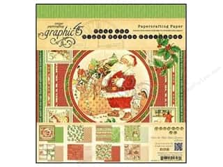 Graphic 45 Night/Christmas Paper Pad 8x8
