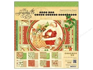 Graphic 45 Night/Christmas Paper Pad 12x12