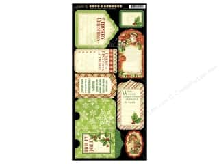 Graphic 45 Night/Christmas Cardstock Tags & Pocket
