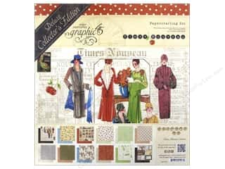 ABC & 123 Holiday Sale: Graphic 45 Deluxe Collector Ed Times Nouveau