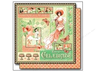 "Party & Celebrations: Graphic 45 Time to Celebrate Paper 12""x 12"" (25 pieces)"