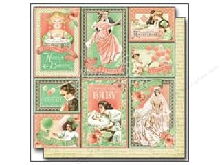 "Baby Weekly Specials: Graphic 45 Time to Celebrate Paper 12""x 12"" Congratulations (25 pieces)"