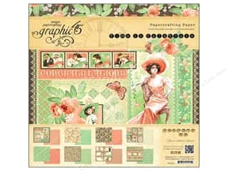 "Scrapbooking & Paper Crafts Weekly Specials: Graphic 45 Time to Celebrate Paper Pad 12""x 12"""