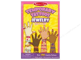 Children: Melissa & Doug Temporary Tattoos Jewelry
