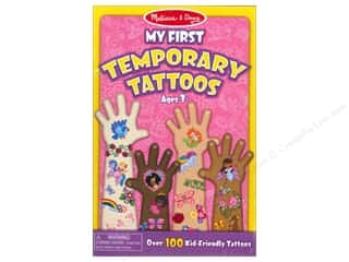 Children: Melissa & Doug Temporary Tattoos My First Girl