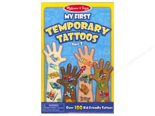 Children: Melissa & Doug Temporary Tattoos My First Boy