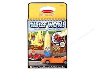 Melissa & Doug Water Wow Book Vehicles