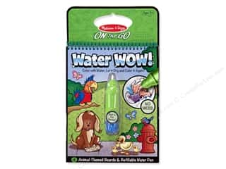 Animals Kids Crafts: Melissa & Doug Water Wow Book Animals