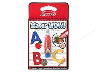 Children Books & Patterns: Melissa & Doug Water Wow Book Alphabet