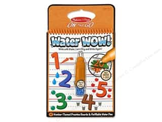Kid Crafts ABC & 123: Melissa & Doug Water Wow Book Numbers