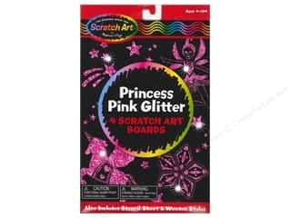 Novelty Items: Melissa & Doug Scratch Art Sheets Princess Pink