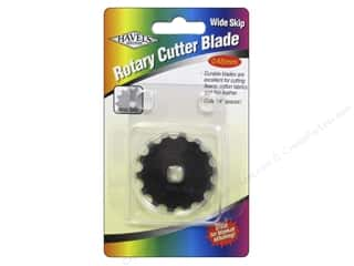 Sewing Construction Brand-tastic Sale: Havel's Inc Notions Rotary Cutter Blade Wide Skip