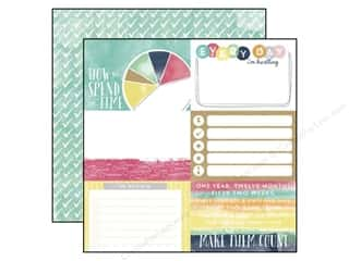 agenda blue & company: Echo Park 12 x 12 in. Paper Creative Agenda Collection 4 x 6 in. Journaling Cards (25 sheets)
