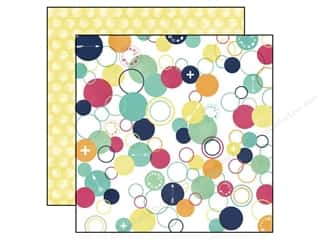 agenda blue & company: Echo Park 12 x 12 in. Paper Creative Agenda Collection Circles (25 sheets)