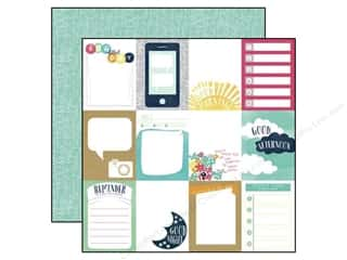 Scribbles inches: Echo Park 12 x 12 in. Paper Creative Agenda Collection 3 x 4 in. Journaling Cards (25 pieces)