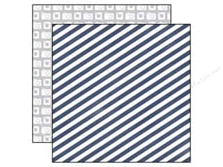 agenda blue & company: Echo Park 12 x 12 in. Paper Creative Agenda Collection Blue Stripe (25 sheets)