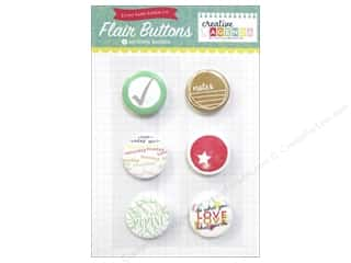 agenda blue & company: Echo Park Creative Agenda Collection Flair Buttons