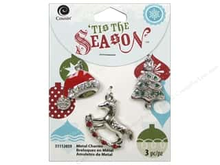 Cousin Season Christmas Charm Tree/Hat/Horse Silv