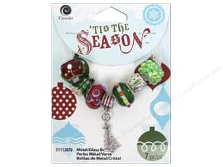 Christmas Beading & Jewelry Making Supplies: Cousin Tis The Season Christmas 2014 Bead Tree Red/Green/Silver