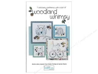 Book-Needlework: Just Another Button Co Woodland Whimsy Stitchery Book