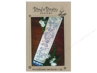 Common Thread Designs Table Runner & Kitchen Linens Patterns: Bird Brain Designs Yard Of Snowmen Table Runner Pattern