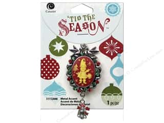 Bells Red: Cousin Tis The Season Christmas 2014 Accent Elf Cameo Metal Green/Red