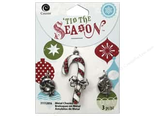 Cousin Season Christmas Charm Peppermint Candy Sl