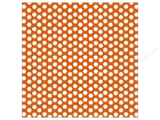 Canvas Corp 12 x 12 in. Paper Orange & White Dot Rev (15 piece)