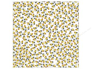 Canvas Corp 12 x 12 in. Paper Candy Corn on White (15 piece)