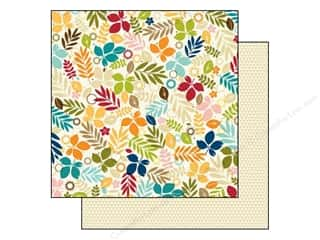 Autumn Leaves Scrapbooking & Paper Crafts: Bella Blvd 12 x 12 in. Paper Hello Autumn Falling Into Fall (25 pieces)