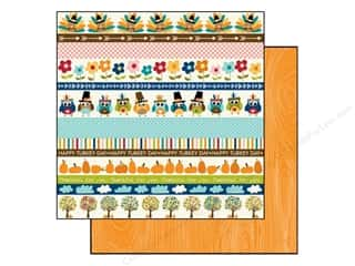 Bella Blvd 12 x 12 in. Paper Hello Autumn Borders (25 piece)