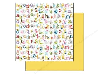 Bella Blvd 12 x 12 in. Paper Tiny Tots Love To Learn (25 piece)