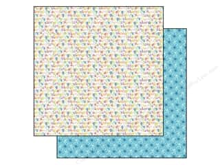Bella Blvd 12 x 12 in. Paper Tiny Tots Alphabet Soup (25 piece)
