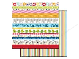 Bella Blvd 12 x 12 in. Paper Tiny Tots Borders (25 piece)
