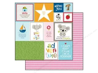 Bella Blvd 12 x 12 in. Paper Tiny Tots Daily Details (25 piece)